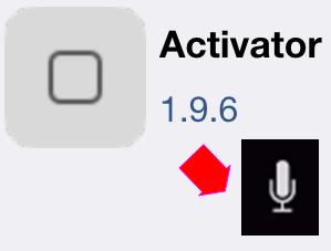 Activator→Siri